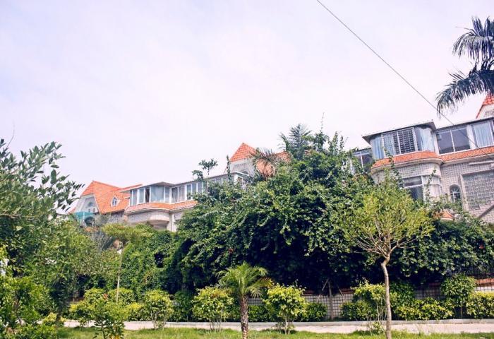 家和圆+绿树环绕别墅