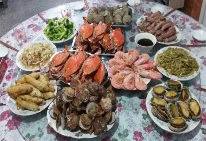 长岛家悦渔家客栈+渔家特色海鲜